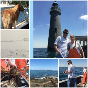 Weekend with my sister the Massachusetts lobsterman! (click to zoom in)